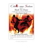 Chilli con Salsa – Black Tie Dance poster design