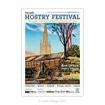 Hostry Festival 2014 poster design